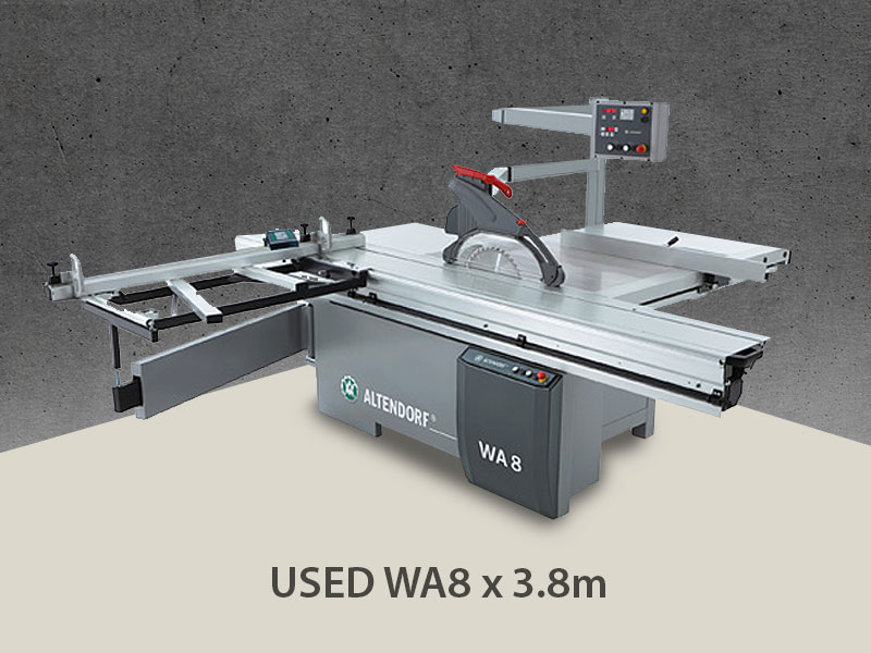 Altendorf USED WA8 x 3.8m for sale
