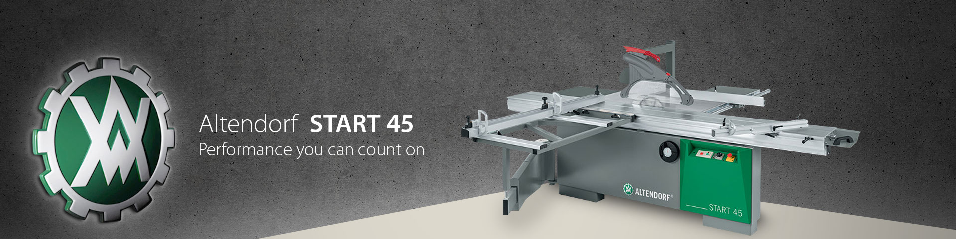 altendorf START 45 Panel Saw