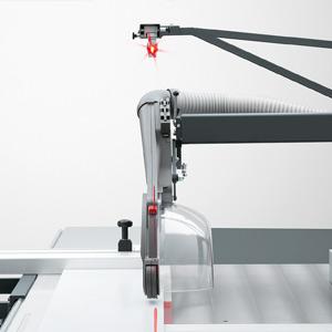 Laser cutting line marker