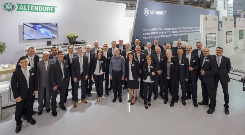 Altendorf Staff members of Ligna 2017
