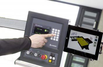 Altendorf MAGIS machine control + tablet
